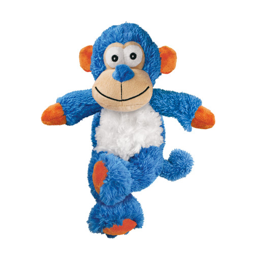 Kong Cross Knots Monkey brinquedo com cordas atadas por dentro para cães
