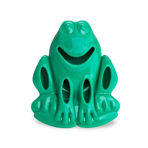 Kong Quest Critter Frog brinquedo dispensador de guloseimas para cães
