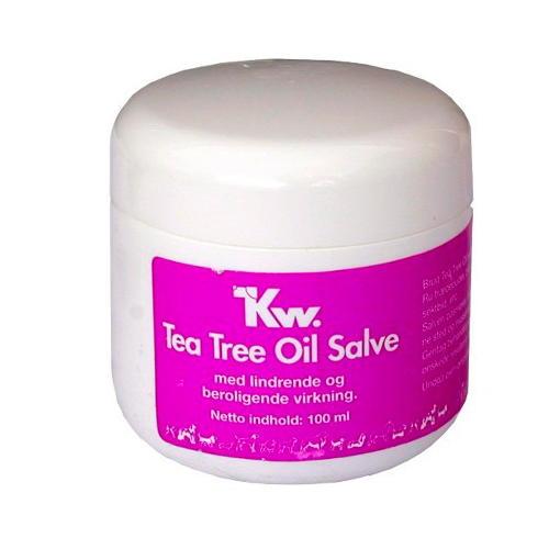 Kw creme de reparação de óleo de raízes da árvore do chá