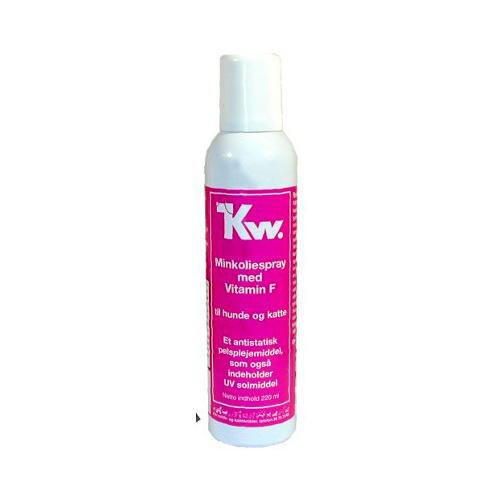 Kw spray óleo de vison com lanolina