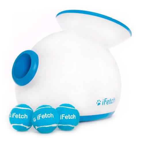 Lançador de bolas automático longas distâncias iFetch