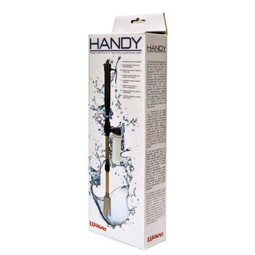 Limpador de fundos Aspirador a Pilhas para Aquários Handy