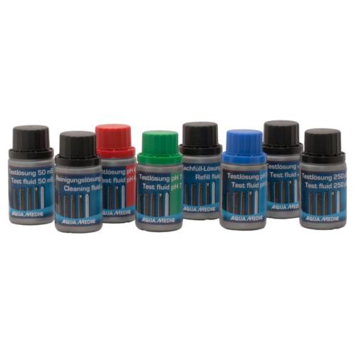 Líquidos para calibração de eléctrodos de pH