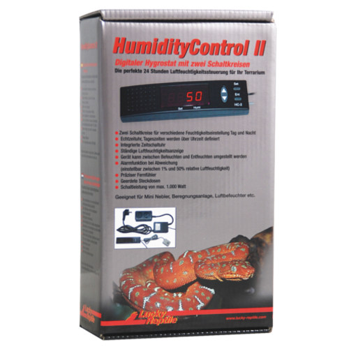 Lucky reptile Humidity control II Higrostato digital