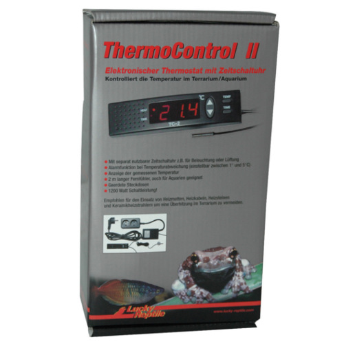 Lucky reptile Thermo control II Termostato digital controlo Tª