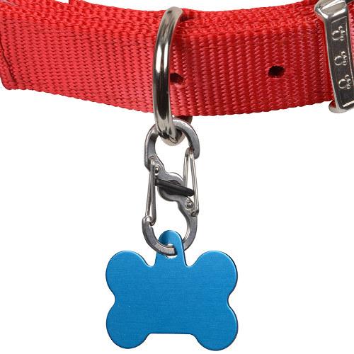 Mosquetão para cães e gatos TagLock com fecho de segurança