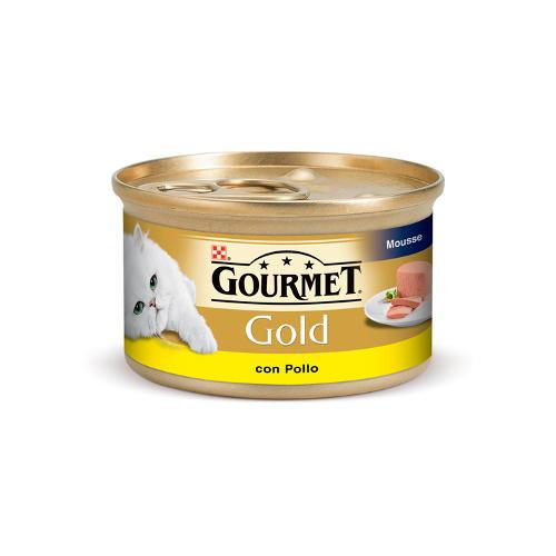 Gourmet mousse frango para gatos