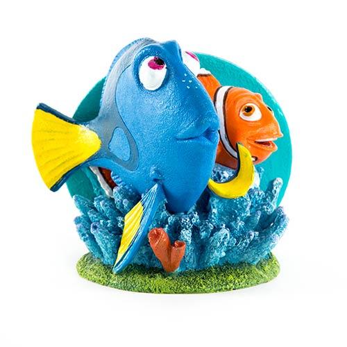 Figura Dory e Marlin adorno aquários