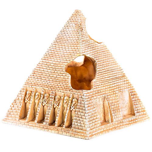 Pirâmide egípcia decoração para aquários