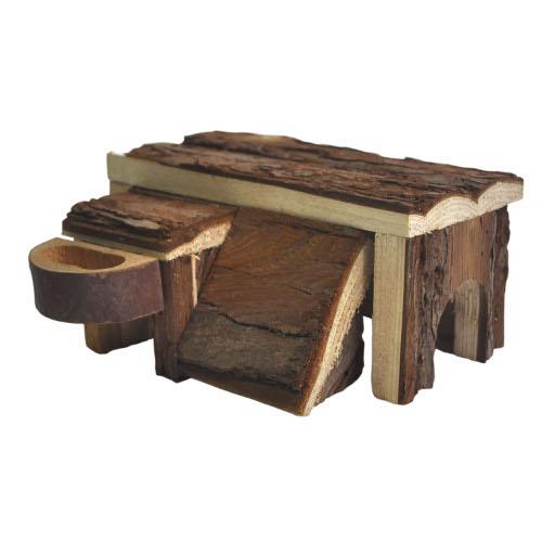 Casinha de madeira para hamster Tundra Home