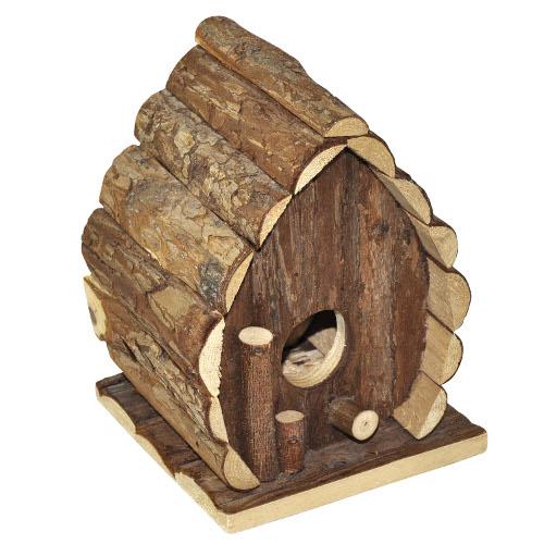 Ninho de madeira natural para hamster North Home