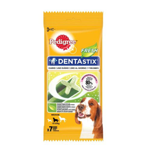 Pedigree Dentastix Fresh Medium snack dental para cães médios