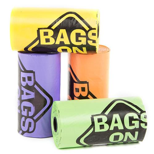 Saquinhos de recolha de excrementos Simple Solution arco-íris
