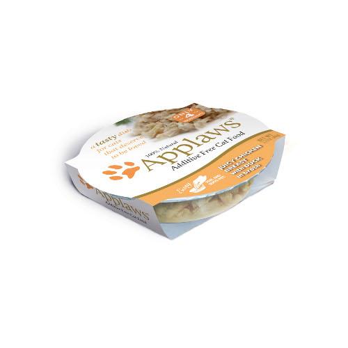Comida húmida para gatos Applaws Tasty com frango e pato