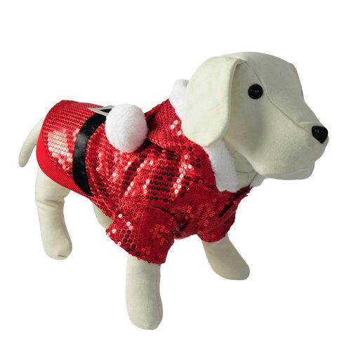 Disfarce para cães Pai Natal festa