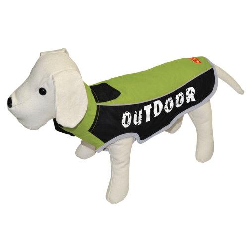 Jaqueta impermeável para cães outdoor cor pistáchio