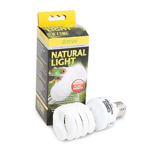 Exo Terra Natural Light lâmpada compacta do luz do dia