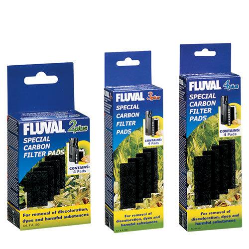 Almofadinha de Filtragem de Carvão para Fluval Plus
