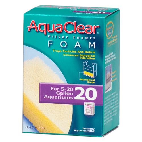 Carga Filtrante Foamex para Filtro Mochila AquaClear