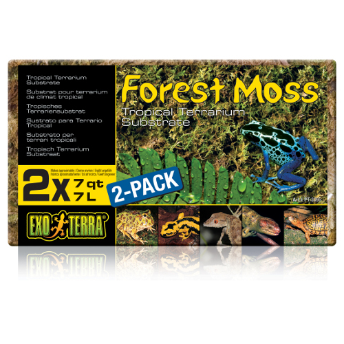 Substrato tropical Forest Moss de Exo Terra