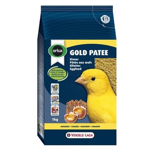 Pasta para pássaros amarela Gold Patee