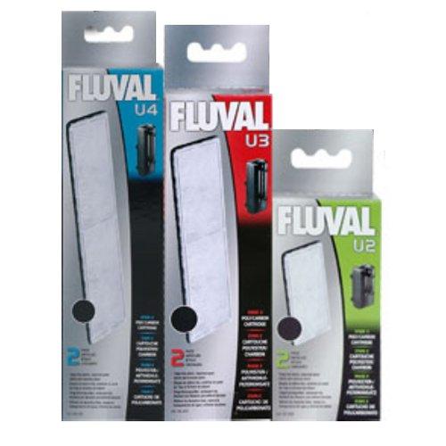 Carga filtrante de carvão para Filtro Fluval U