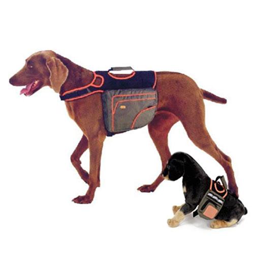 Alforge ergonómico para cães
