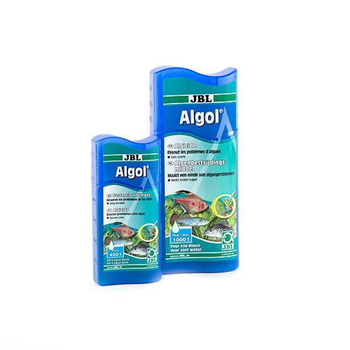 Anti-algas para aquários de água doce Algol