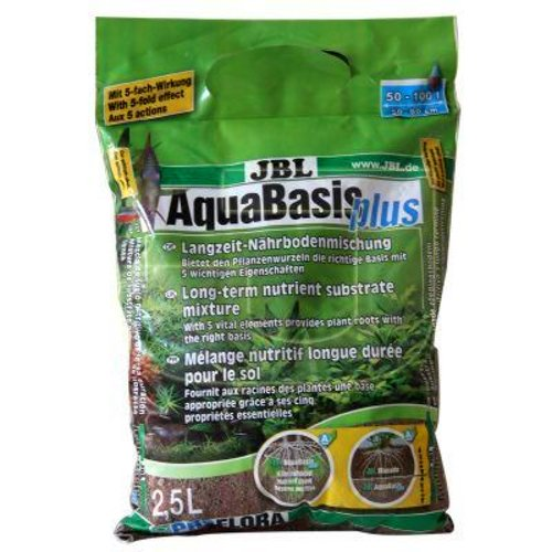 Substrato para novos aquários Aquabasis Plus