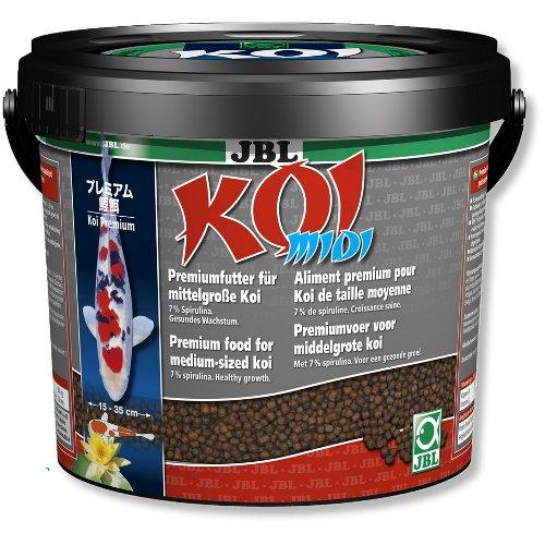 Alimento para peixes koi e dourados koi midi gr nulo for Alimento para carpas koi