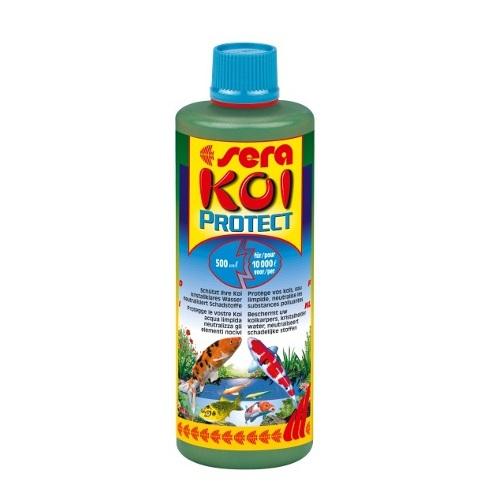 SERA Koi Protect Amaciador de água e protector de mucosas