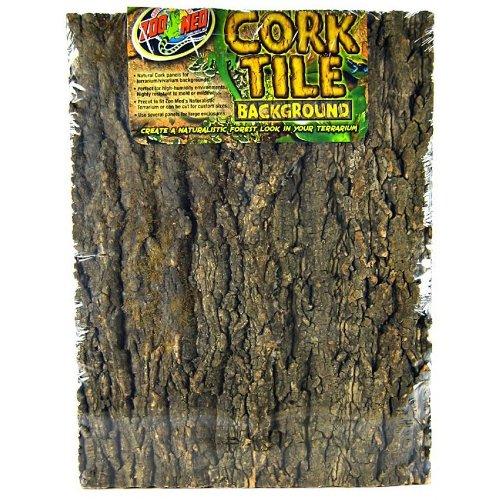 Fundo natural para terrários Cork Tile