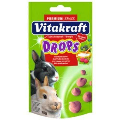 Drops com frutas do bosque para coelhos anões Vitakraft