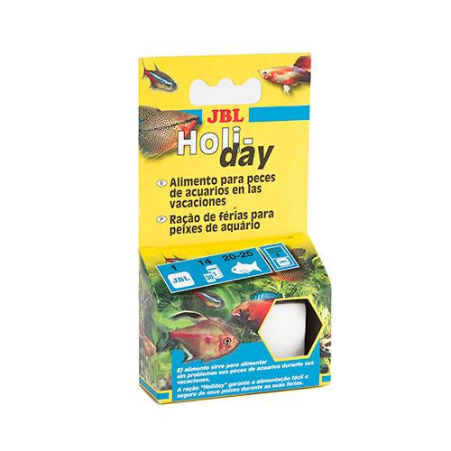 JBL Holiday Bloco de alimento para peixes Especial Férias