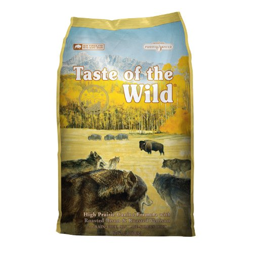 Taste of the Wild Canine High Prairie com bisonte e veado