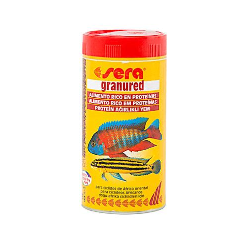 SERA granured 250 ml Alimento para cíclidos carnívoros
