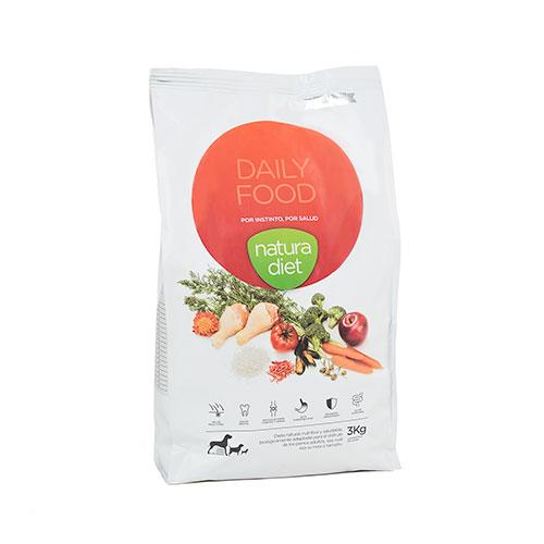 Natura Diet Daily food Adulto Manutenção Frango