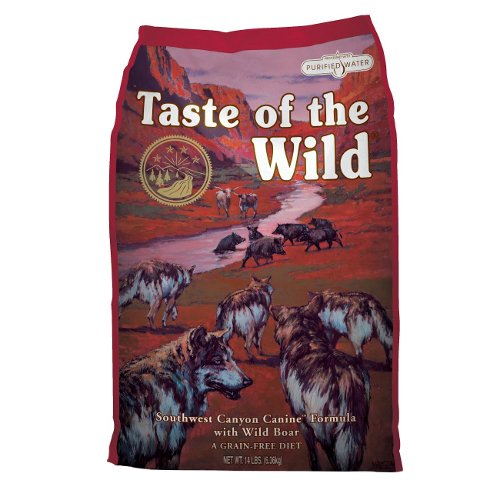Taste of the Wild Southwest Canyon com boi e Javali