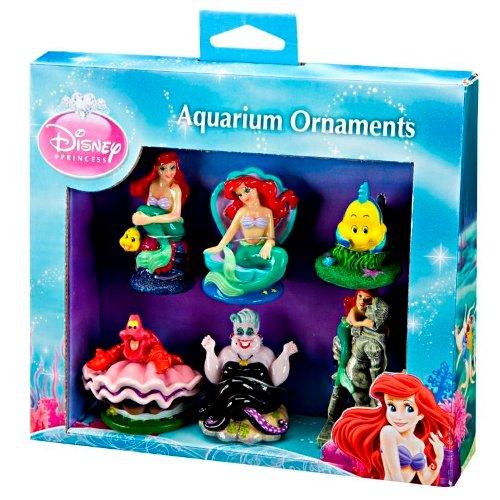 """""""A Pequena Sereia"""" pack de 5 Figura decoração aquários"""