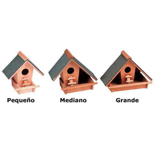Ninho casa de madeira