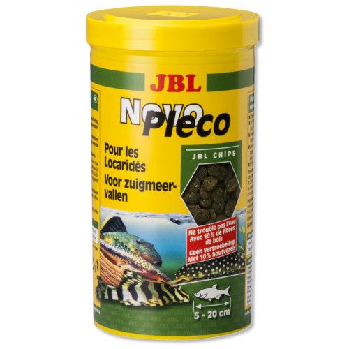 JBL Novopleco Pastilhas de algas com madeira para siluros