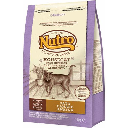 Nutro Natural Choice Housecat ração com pato para gatos domésticos