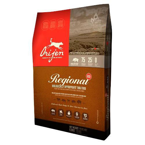 Orijen Canine Adult Carne Vermelha alimentação natural para cães