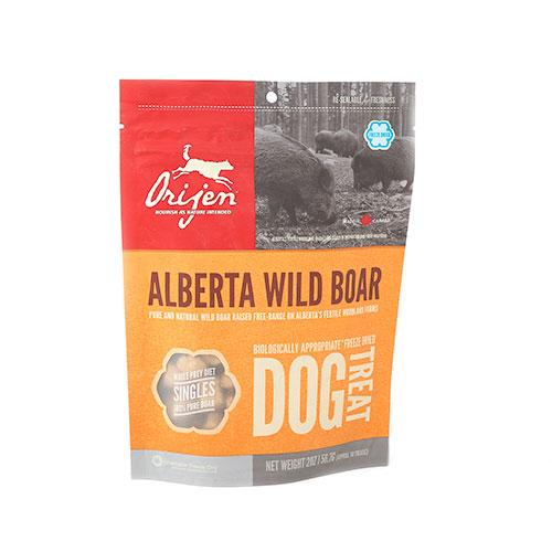 Orijen Treats Wild Boar snack natural de javali para cães