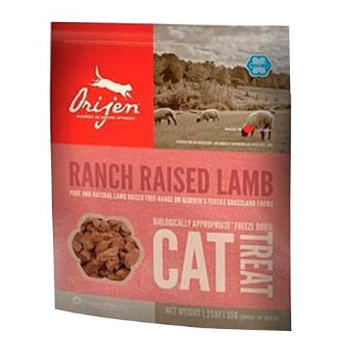 Orijen Treat Lamb snack natural de cordeiro para gatos