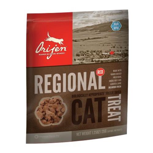 Orijen Treat Regional snack natural de carne vermelha para gatos