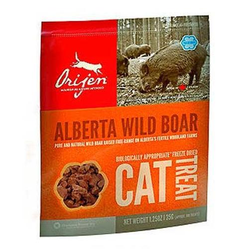 Orijen Treat Wild Boar snack natural de javali para gatos