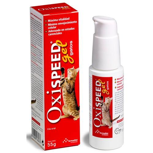 Oxispeed Gel Aumenta vitalidade e atrasa o envelhecimento gatos
