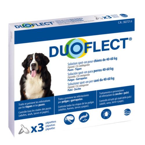 Pipetas antiparasitárias para cães de 40-60 kg Duoflect