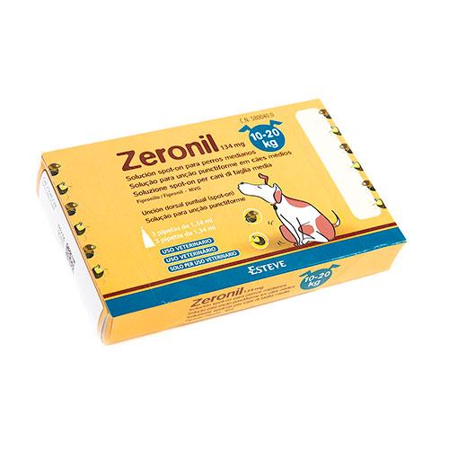 Pipetas antiparasitárias para cães Zeronil